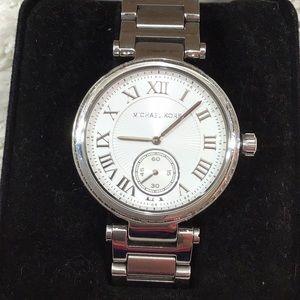 Michael Kors Skyler silver bracelet watch